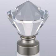Diamond-Brushed Nickel