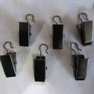 Metal Clips-Black